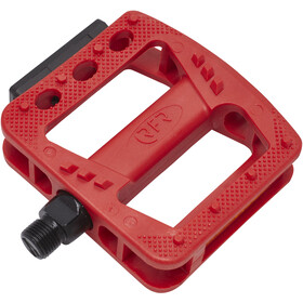 Cube RFR Flat HQP CMPT Pedales, red